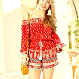 Band of Gypsies Romper